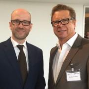 Dr. Peter Tauber, Generalsekretär der CDU Deutschland und Peter Neumann von Plateau RED