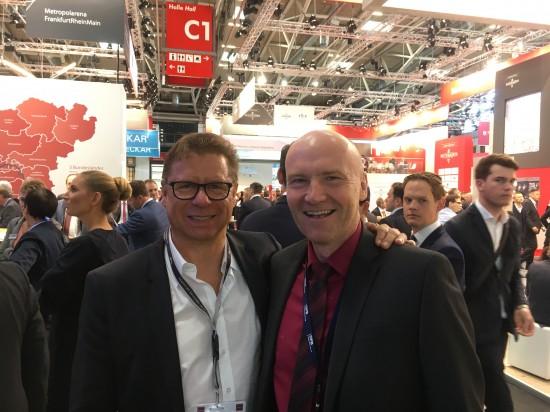 Mit Ralph Holeschovsky, Niederlassungsleiter, OFB Projektentwicklung