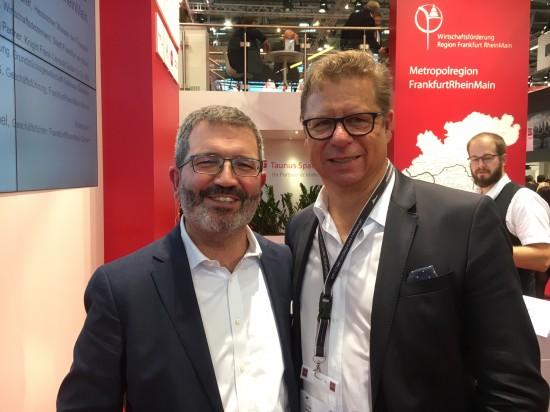 Mit Professor Dr. Elmar Schütz, aurelis Real Estate GmbH & Co KG (links)