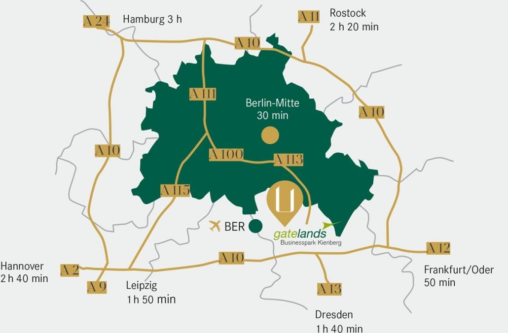 The Unique Standort am Flughafen Berlin